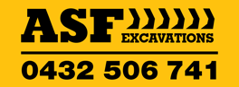 ASF Excavations   All your earthworks, earthmoving and excavation needs